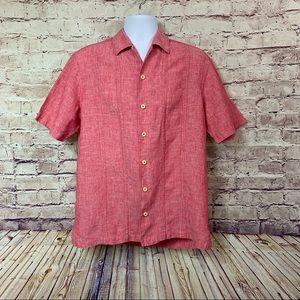 Tommy Bahama Linen Short Sleeve Shirt